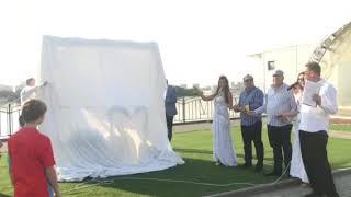 Открытие самой большой в мире свадебной фоторамки 1