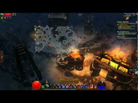 L/A Torchlight 2, Part 17 - Obtaining The Crests From The Frost Hill Chests, Elite Hardcore
