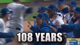 How The Number '108' Keeps Appearing Ahead of Chicago Cubs' World Series Run