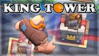 Optimal King Tower Placements | Clash Royale 🍊