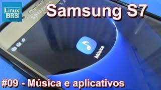 Samsung Galaxy S7 - Baixando app de música e outros aplicativos