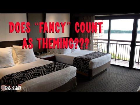 Disney's Contemporary Resort Room Tour, Orlando FL, Very unOfficial Travel Guides