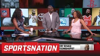 Jemele Hill reacts to Charles Barkley, Shaq's argument on player-coach bond | SportsNation | ESPN