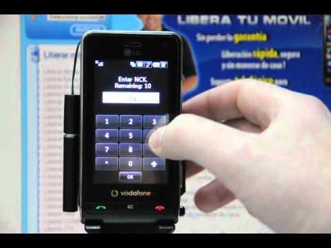 Liberar LG KU990i, desbloquear LG KU990i y KU990 de Vodafone - Movical.Net