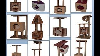 Домики когтеточки для кошек