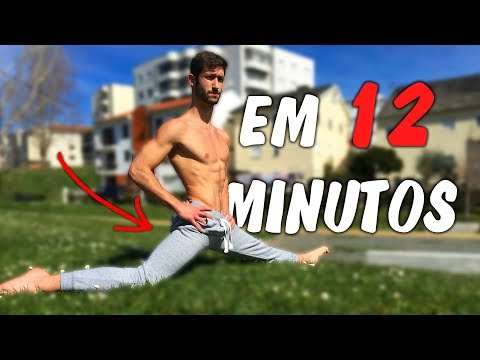 Rotina de Alongamentos FULL BODY (12 Minutos!)