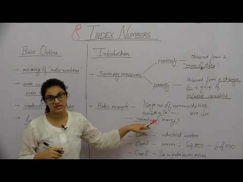Index Numbers _ Part1 _ Introduction _ Shubhi Chhabra