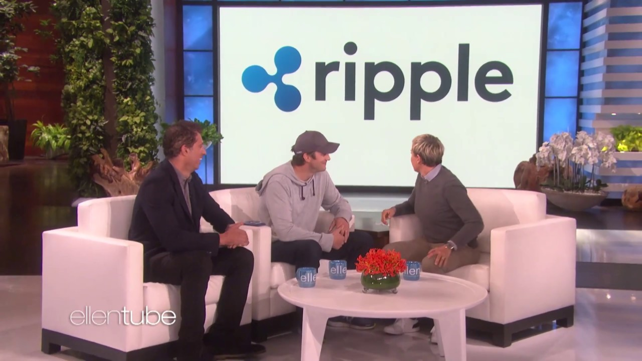ripple donates 4 million to ellen degeneres charity ellen loves it