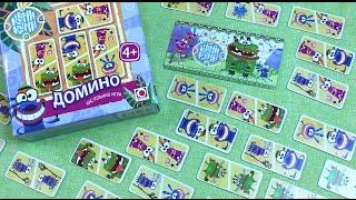 Куми-Куми - Настольная игра - Домино / Qumi-Qumi - Board game - Domino [Мир игрушек](, 2016-04-27T03:23:20.000Z)