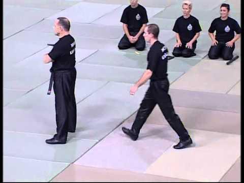 Démonstration Self-Défense et Krav-Maga par Claude POUGET, Monaco Monte-Carlo