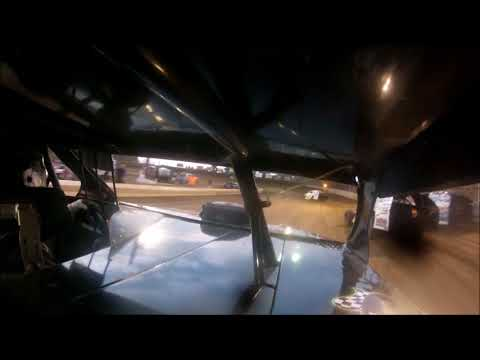 TERRY BROWN  RACING 18B MODIFIED HEAT RACE AUGUST 18, 2017 BELLE-CLAIR  SPEEDWAY  GO PRO