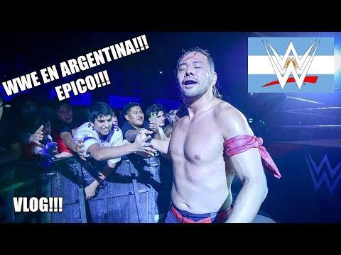 ¿ El SHOW mas EPICO? WWE EN ARGENTINA!!! Vlog 🏋♂🏋♀