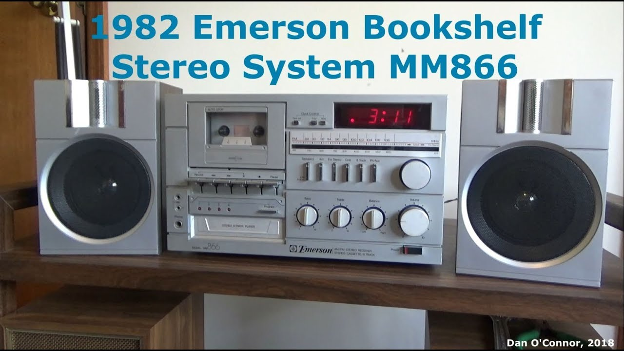 1982 Emerson MM866 Stereo System