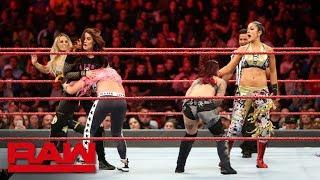 10-woman Tag Team Match: Raw, Oct. 29, 2018