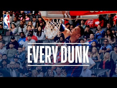 Blake Griffin, Kenneth Faried, and Every Dunk From Saturday Night | November 4, 2017