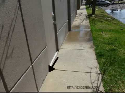 Caulking Gap Between Building And Sidewalk Maintenance