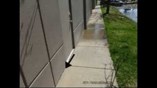Caulking Gap between Building and Sidewalk - Maintenance and Erosion Control