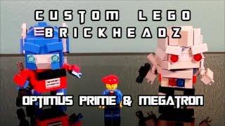 ليغو Brickheadz مخصص ميجاترون أوبتيموس رئيس الوزراء من قبل BX بركس