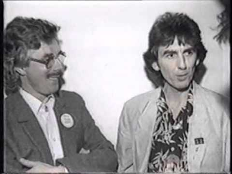 George Harrison and Derek Taylor   New Zealand Press Conference Part 1