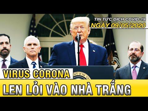 Tin tức dịch Covid 19 mới nhất ngày 9 tháng 5, 2020 | Virus corona đang len lỏi vào Nhà Trắng | Fbnc