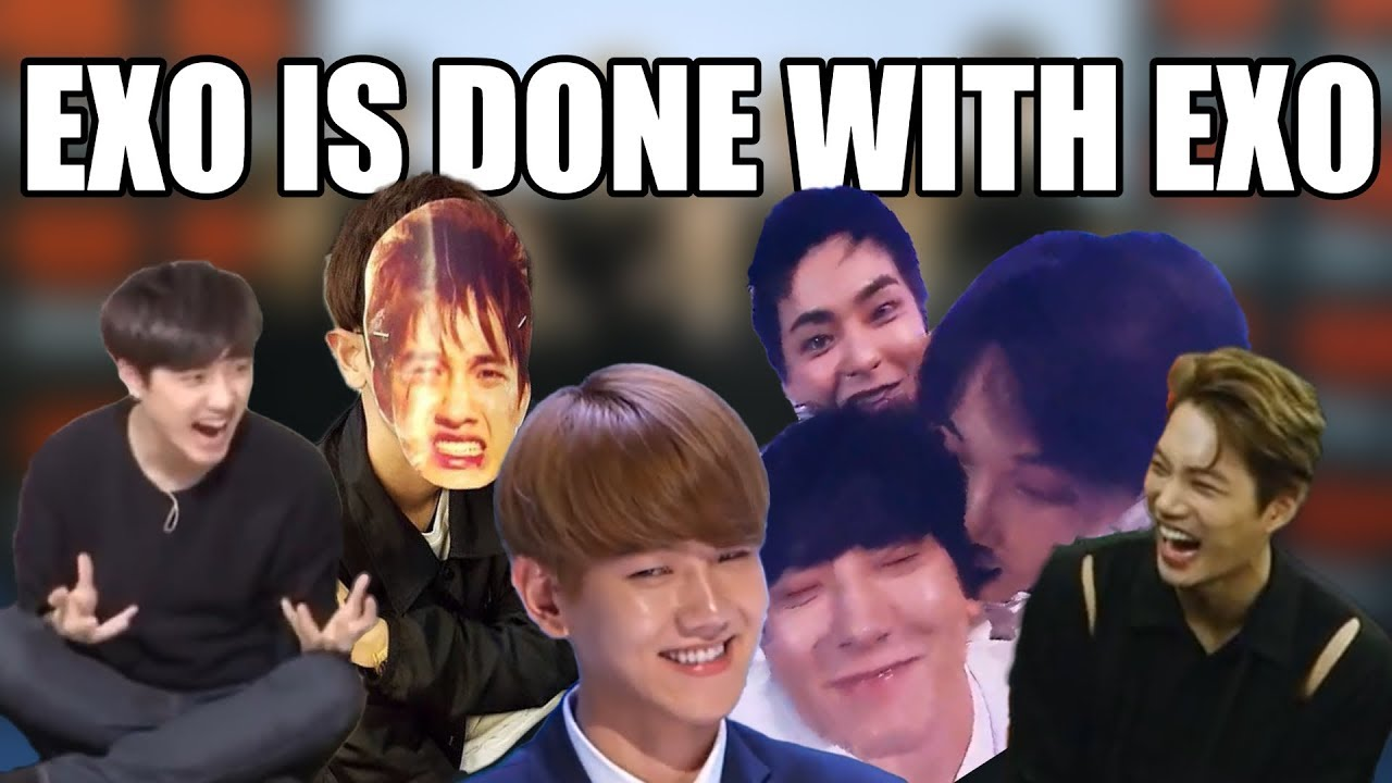 EXO annoying each other for 5 minutes straight a.k.a. I need a comeback