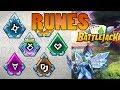 Battlejack : premier guide sur les runes