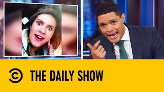 Teens Post TikTok Video Moments After Shocking Car Crash | The Daily Show With Trevor Noah