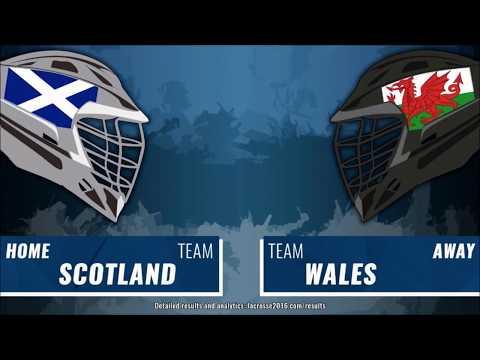 Scotland Lacrosse vs Wales - 1st Quarter