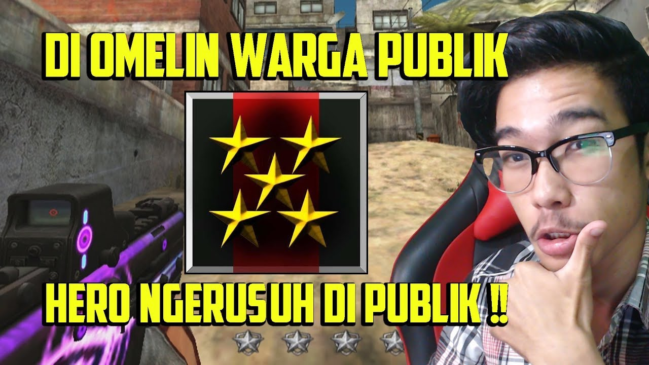 Pangkat Hero Di Omelin Warga Pebeh Karena Ngerusuh Di Publik Wkwkwk Point Blank Garena Indonesia Youtube