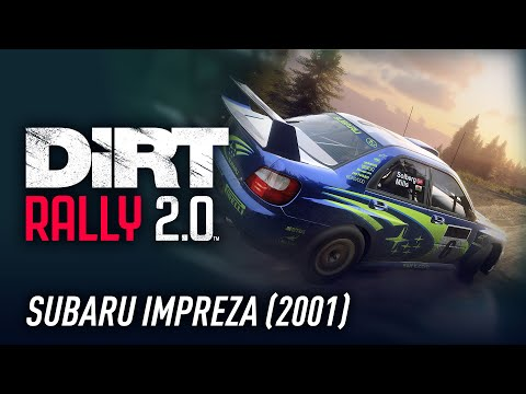 SUBARU Impreza 2001 - Car of the Week - DiRT Rally 2.0 |