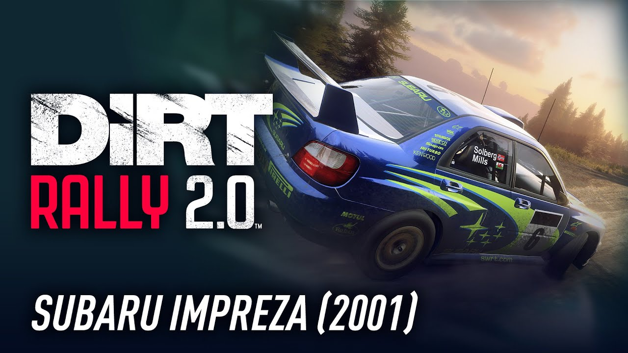 Sub Impreza 2001 – Car of the Week – DiRT Rally 2.0 – YouTube