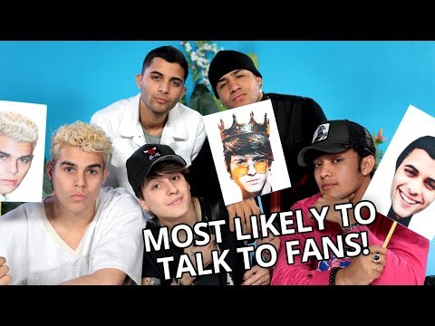 MOST LIKELY TO | VS w/ CNCO