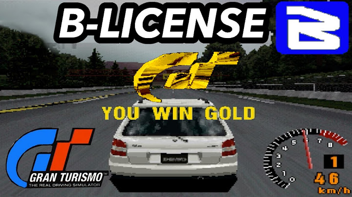 gran turismo 1 pal  all gold license tests  blicense hd