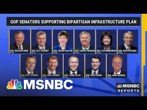 Smaller Bipartisan Infrastructure Compromise Gains Support   MSNBC