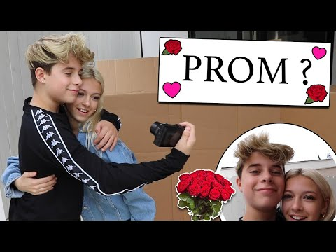 Asking My Girlfriend To PROM **EMOTIONAL REACTION**   Gavin Magnus Ft. Coco Quinn