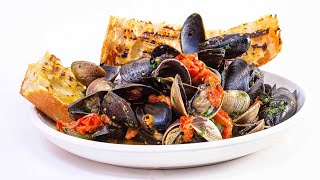 How To Make Quick Clams & Mussels With White Wine & Garlic By Chef Michael Schlow