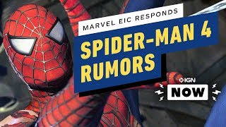 Marvel Editor-in-Chief Responds to Spider-Man 4 Rumor - IGN Now