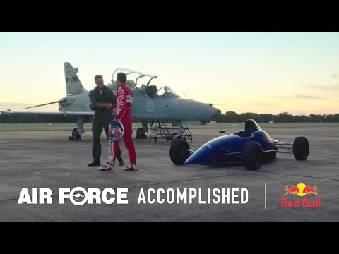 The pathway to Formula 1 and Air Force Fighter Jets