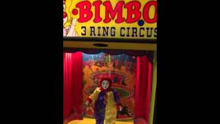 The original Bimbo three ring circus vintage arcade