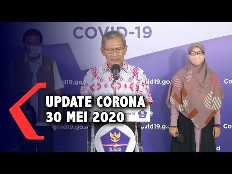 Update Corona 30 Mei 2020: 25.773 Positif, 7.015 Sembuh, 1.573 Meninggal