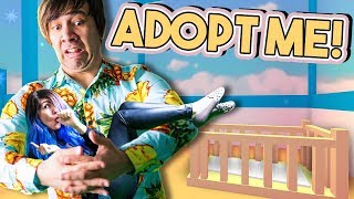 SWITCHING PLACES! | Adopt Me! | ROBLOX ROLEPLAY #9