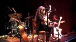 "Zee Avi singing ""The Traveler"" at the Rickshaw Stop in San Francisco on May 22, 2009"