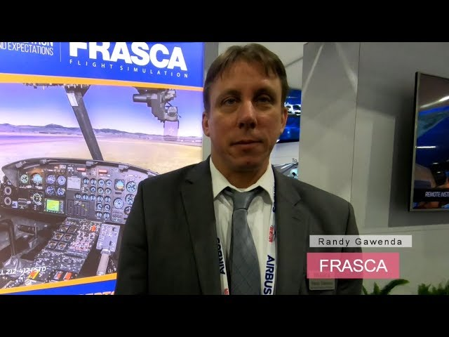 Frasca, innovation at Heli-Expo 2019