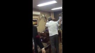 leaked video by brian Lara and PTV sport members celebrate the winning of West Indies