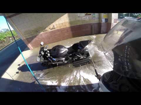 Washing Arianna, And How To Wash Your Motorcycle...The Awesome Way!