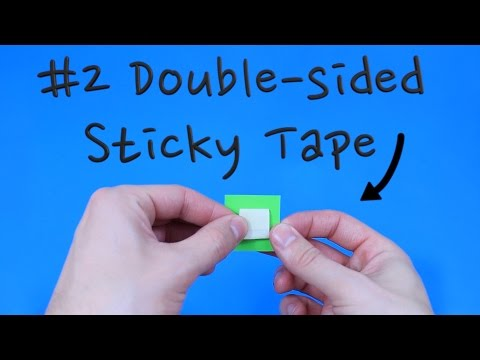 How to make Double-sided Sticky Tape   Pop'n'Olly   Olly Pike