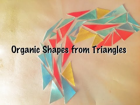 Geometry: Organic Shapes from Triangles