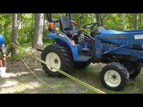 Mechanical Advantage vs. Straight Pull Stumpin'