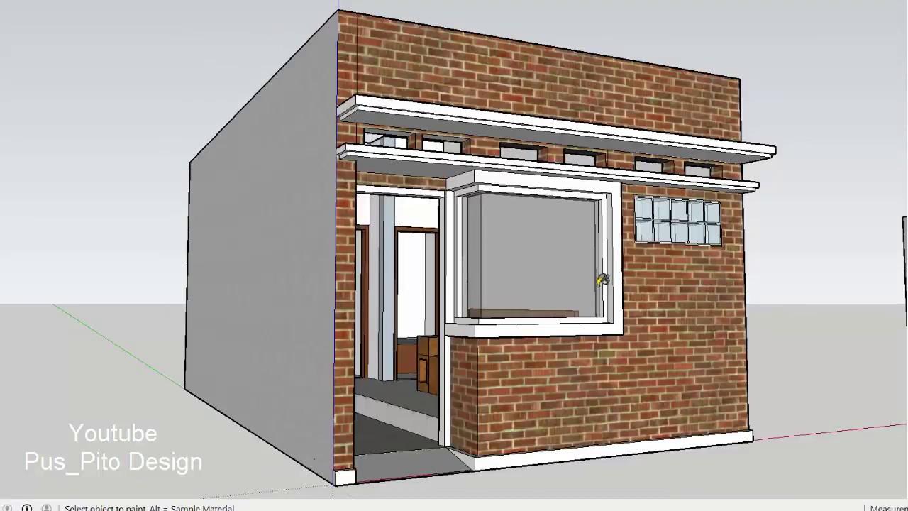 64 Desain Rumah Minimalis Lebar 4 Meter Desain Rumah Minimalis Terbaru
