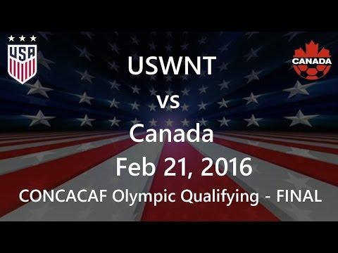 USWNT vs Canada Feb 21, 2016